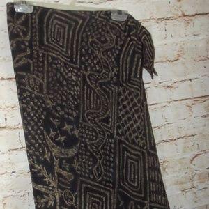 Ralph Lauren Long Flowing Silk Skirt